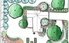 New Jersey Landscape plan design drawing