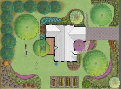 image of Jersey-Friendly yard design