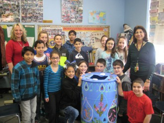 Rain Barrel Challenge 2 North Dover Elem. by NJDEP