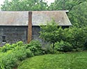 native landcape at a barn and property renovation in new jersey